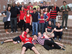 This is some of the motley crew from my freshman year in 2010-2011. Aren't we cute? This is my junior year as a UCA Bear and a STARS kid. If it wasn't my favorite place on campus, I would have moved by now...